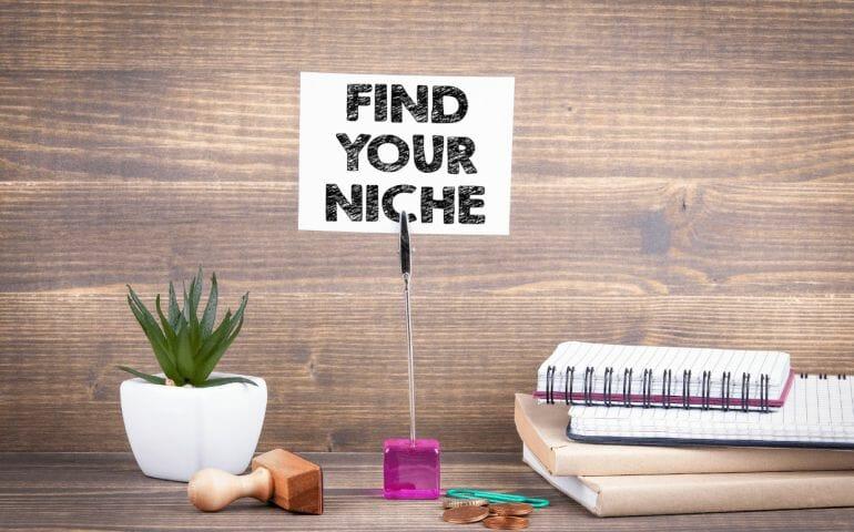 Find your niche
