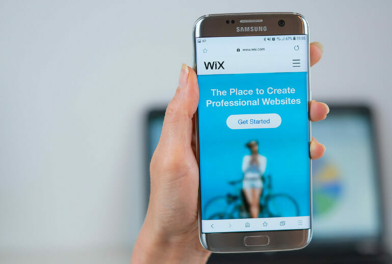 Wix on mobile
