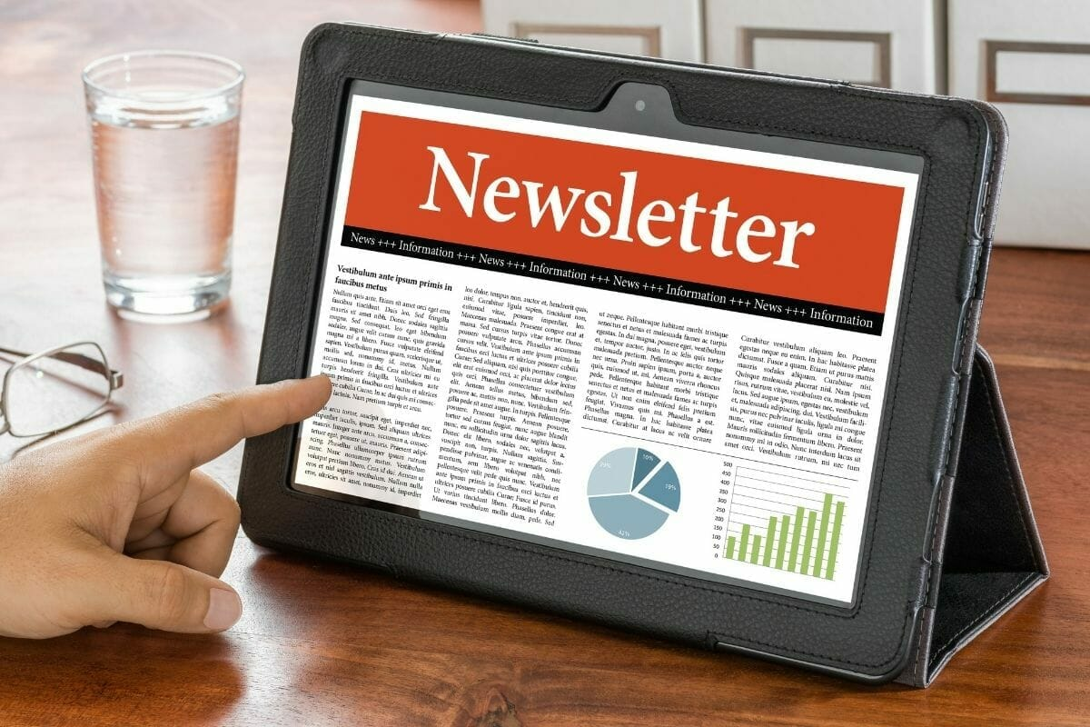 create a store newsletter