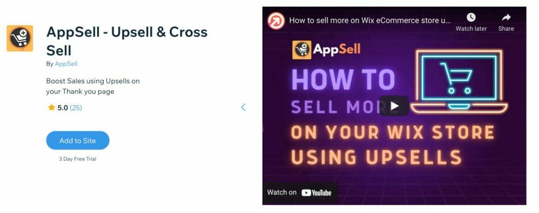 AppSell - Upsell & Cross Sell